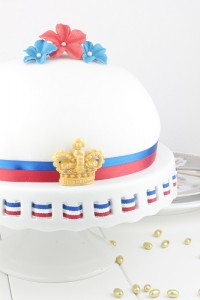 Diamond Jubilee Dome Cake
