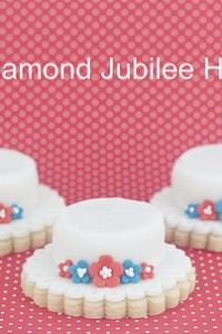 Queens Diamond Jubilee Hat Cookies