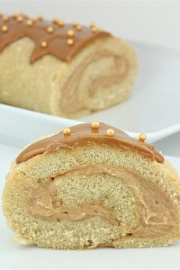 Speculoos Swiss Roll