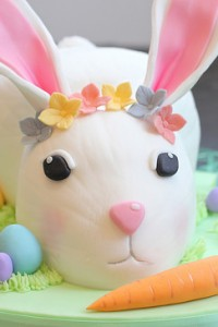 Easter Bunny Cream Cheese Pound Cake
