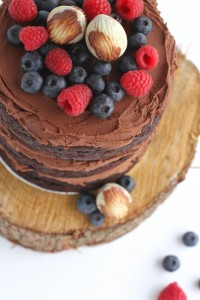 Triple Layer Chocolate Mud Cake