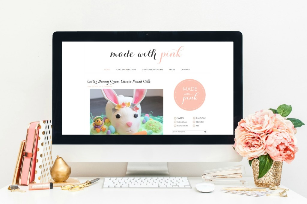 Made With Pink new website