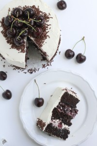 Back Forest Cake Recipe