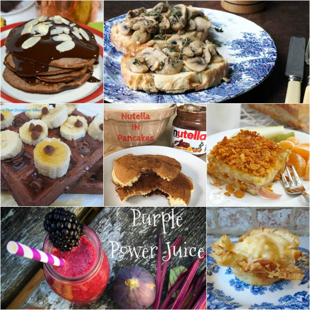 November Brilliant Breakfasts Collage